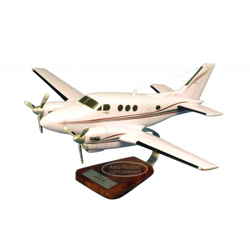 plane model - Beech 90 King Air plane model - Beech 90 King Airplane model - Beech 90 King Air