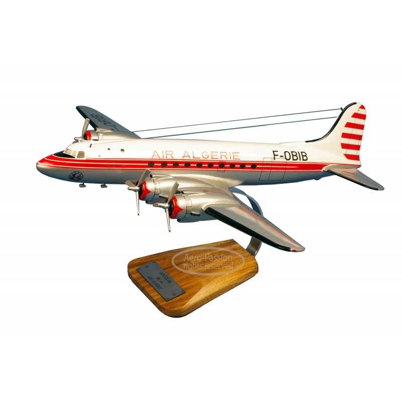 plane model - Douglas DC-4 Air Algerie plane model - Douglas DC-4 Air Algerieplane model - Douglas DC-4 Air Algerie