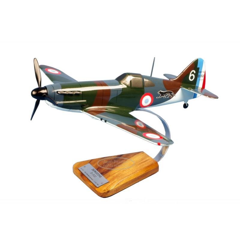 plane model - Dewoitine D.520 II/18 Saintonge plane model - Dewoitine D.520 II/18 Saintongeplane model - Dewoitine D.520 II/18 S