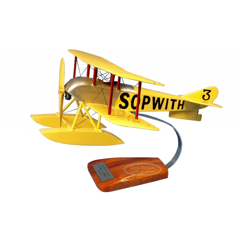 plane model - Sopwith Tabloid, Coupe Schneider plane model - Sopwith Tabloid, Coupe Schneiderplane model - Sopwith Tabloid, Coup