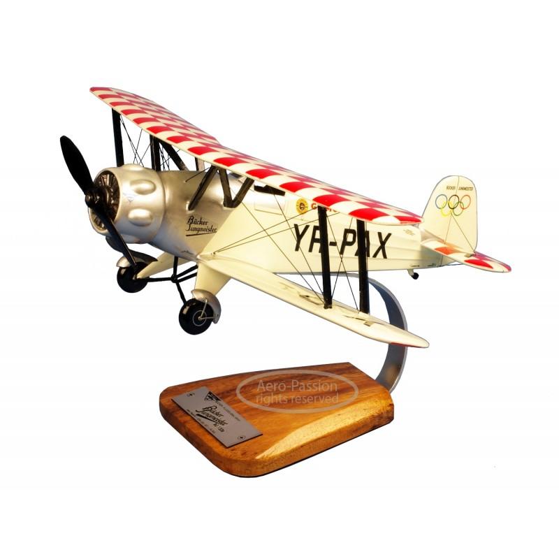 plane model - Bucker Bu-133 Jungmeister plane model - Bucker Bu-133 Jungmeisterplane model - Bucker Bu-133 Jungmeister