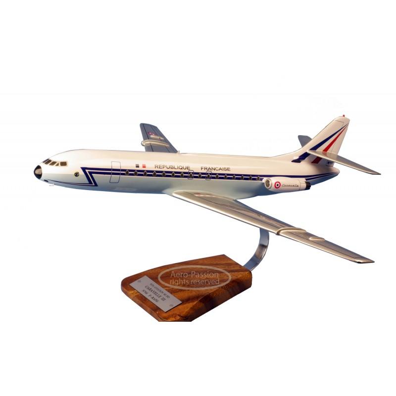 modelo de avião - Caravelle SE-210 De Gaulle modelo de avião - Caravelle SE-210 De Gaullemodelo de avião - Caravelle SE-210 De G