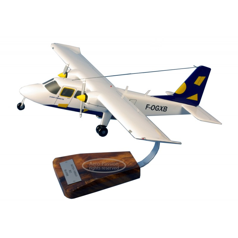 plane model - Britten-Norman BN2B Islander plane model - Britten-Norman BN2B Islanderplane model - Britten-Norman BN2B Islander
