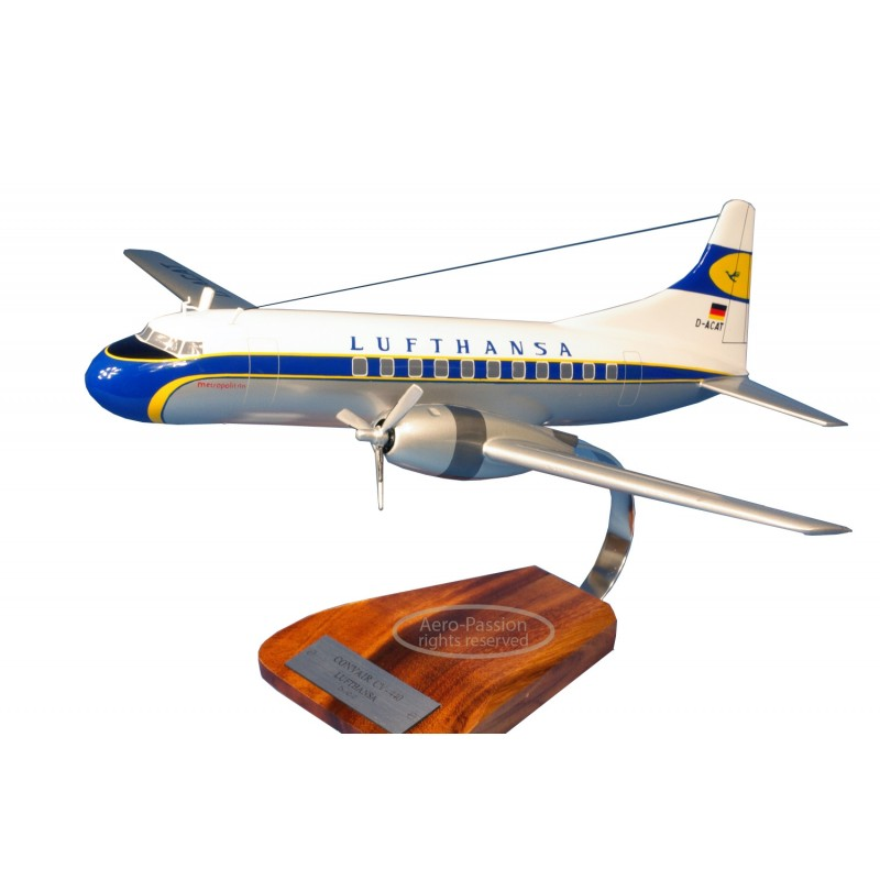 plane model - Convair CV-440 plane model - Convair CV-440 plane model - Convair CV-440