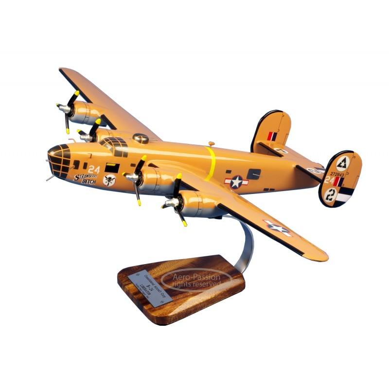 modelo de avião - B-24D Liberator 'Strawberry Bitch' modelo de avião - B-24D Liberator 'Strawberry Bitch'modelo de avião - B-24D