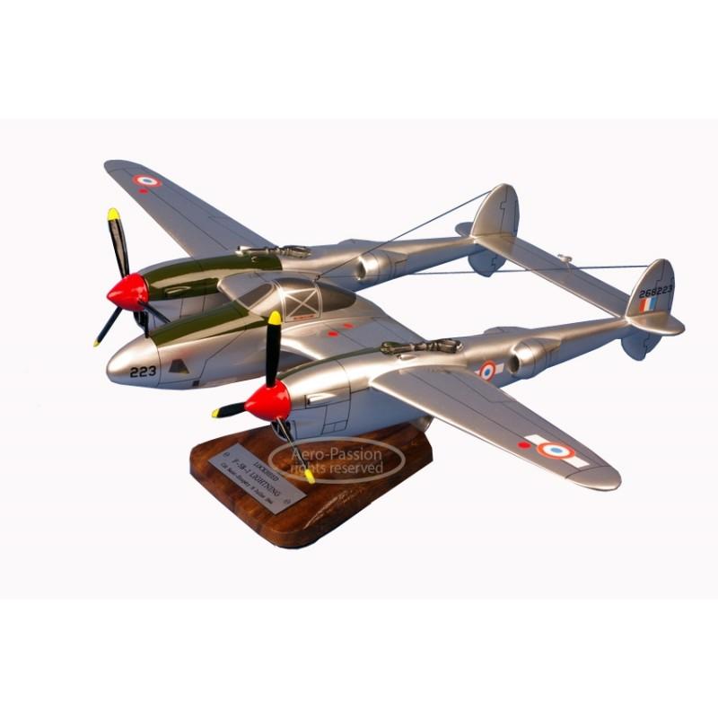 plane model - P-38 - F-5B Lightning - St Exupery plane model - P-38 - F-5B Lightning - St Exuperyplane model - P-38 - F-5B Light