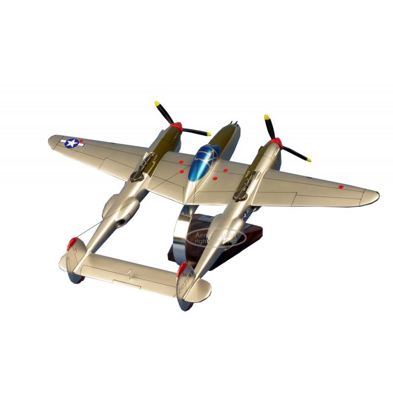 maquette avion - P-38J Lightning - J-LO R.Bong maquette avion - P-38J Lightning - J-LO R.Bongmaquette avion - P-38J Lightning -