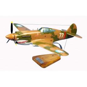 Flugzeugmodell - P-40 Tigre Volant Flugzeugmodell - P-40 Tigre VolantFlugzeugmodell - P-40 Tigre Volant