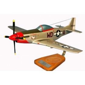 modelo de avião - P-51C Mustang - Major W.Pierce