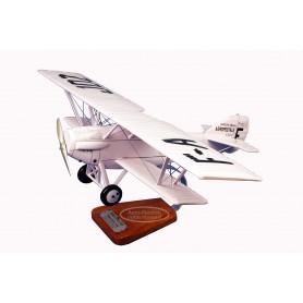 plane model - Potez 25 TOE Aéropostale Guillaumet