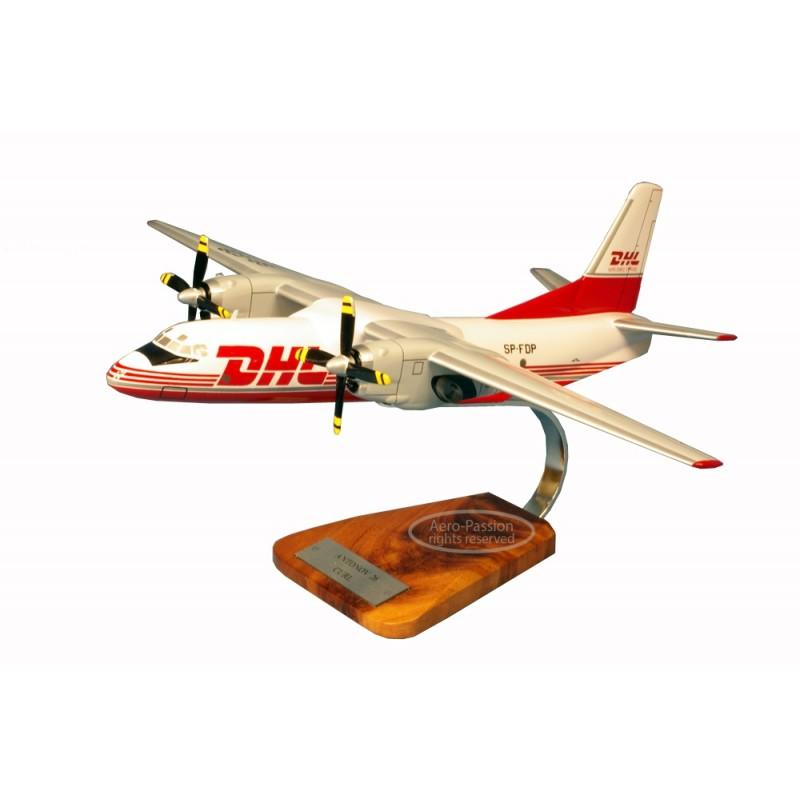 plane model - Antonov 26 - curl - DHL plane model - Antonov 26 - curl - DHLplane model - Antonov 26 - curl - DHL