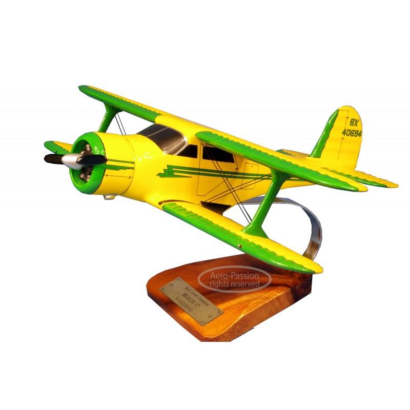 plane model - Beech 17 Staggerwing plane model - Beech 17 Staggerwingplane model - Beech 17 Staggerwing