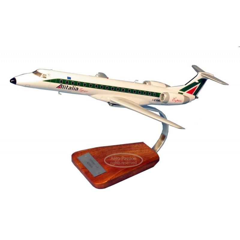 plane model - Embraer 145 Alitalia plane model - Embraer 145 Alitaliaplane model - Embraer 145 Alitalia