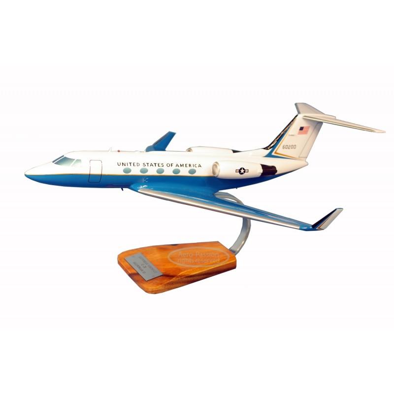 modelo de avião - Gulfstream III C-20 modelo de avião - Gulfstream III C-20modelo de avião - Gulfstream III C-20