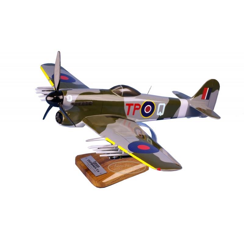 plane model - Hawker Typhoon - R.A.F. plane model - Hawker Typhoon - R.A.F.plane model - Hawker Typhoon - R.A.F.