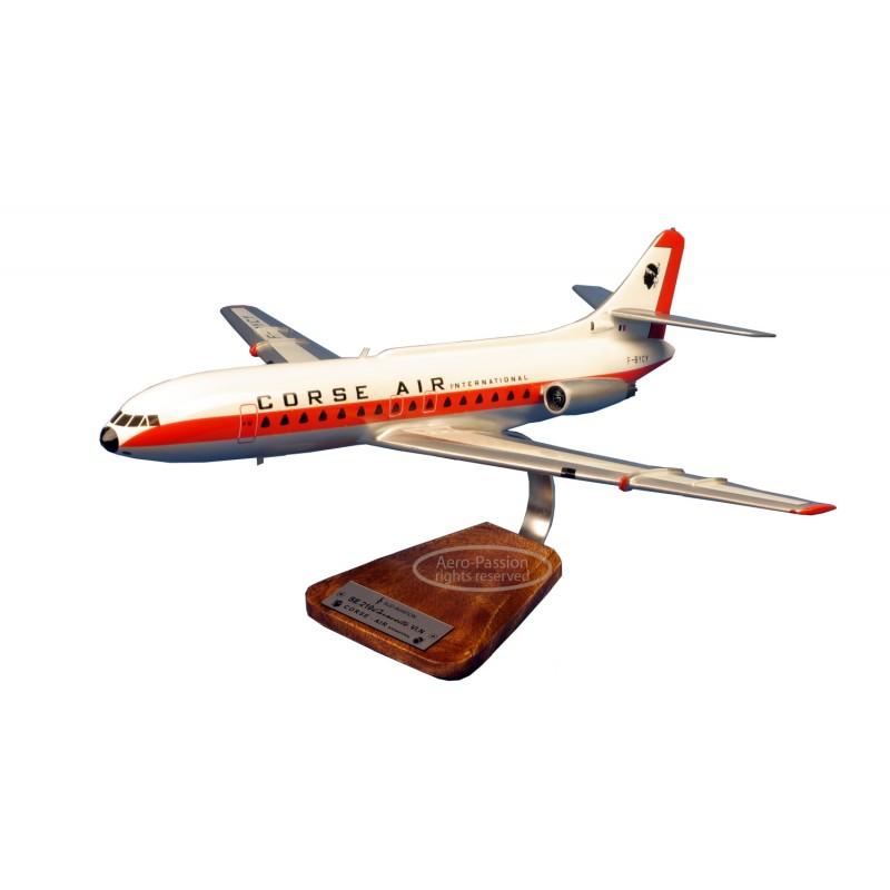plane model - Caravelle SE-210-VI Air-Corse plane model - Caravelle SE-210-VI Air-Corseplane model - Caravelle SE-210-VI Air-Cor