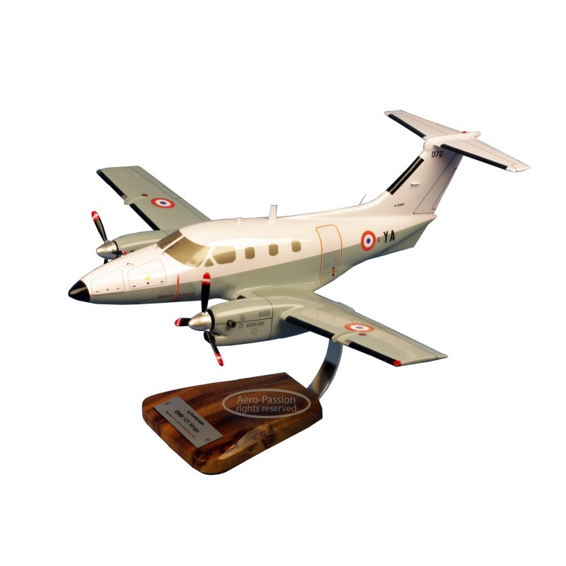 plane model - Embraer 121 Xingu - EAT 00.319 BA702 Avord plane model - Embraer 121 Xingu - EAT 00.319 BA702 Avordplane model - E