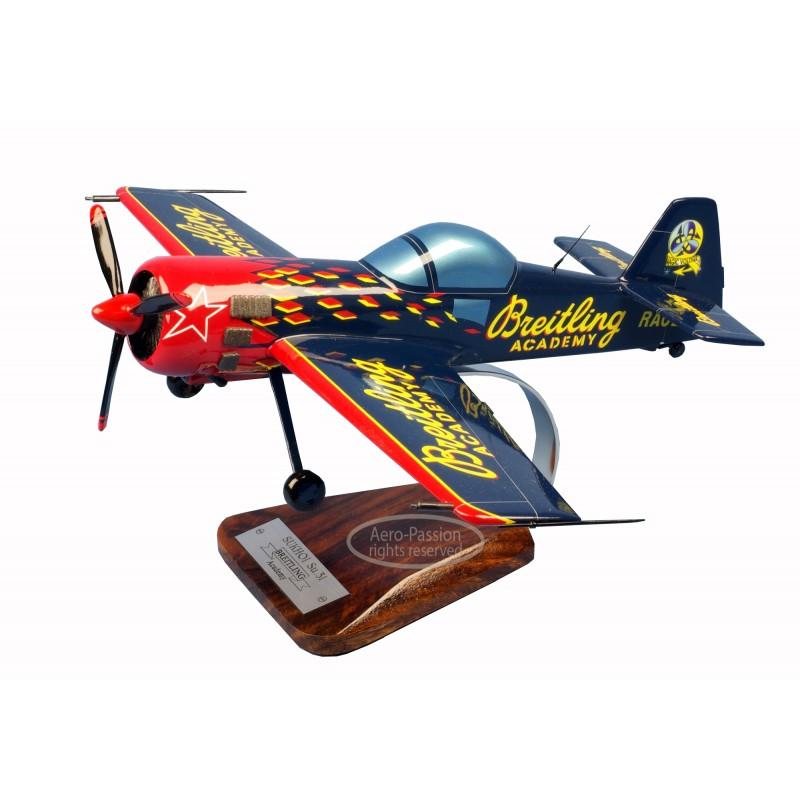 plane model - Sukhoi Su.31 Breitling plane model - Sukhoi Su.31 Breitlingplane model - Sukhoi Su.31 Breitling
