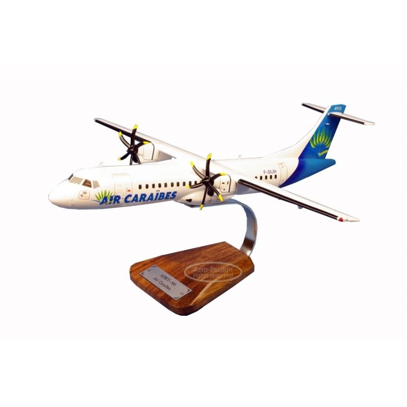 plane model - ATR 72-500 Air Caraibes plane model - ATR 72-500 Air Caraibesplane model - ATR 72-500 Air Caraibes