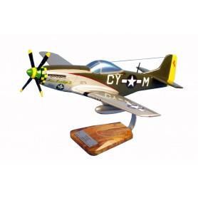 maquette avion - P-51C Mustang - Robert E.Welsh