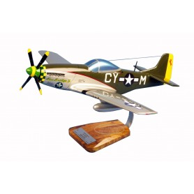 modelo de avião - P-51C Mustang - Robert E.Welsh