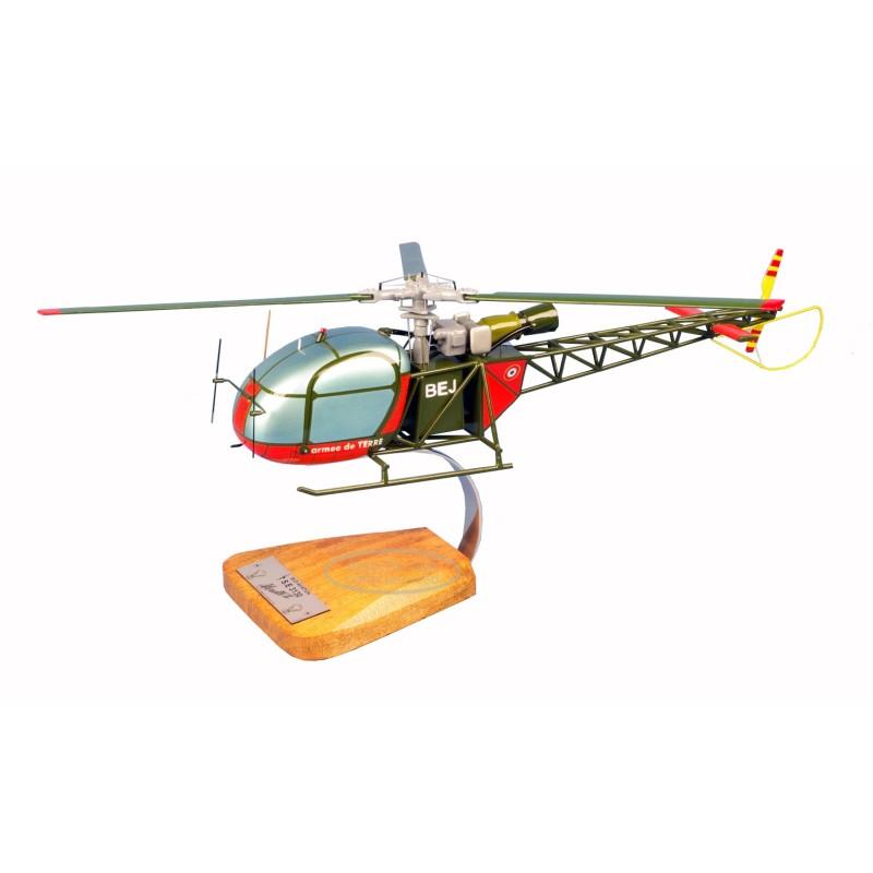 modelo de helicóptero - AS313 Alouette II modelo de helicóptero - AS313 Alouette II modelo de helicóptero - AS313 Alouette II