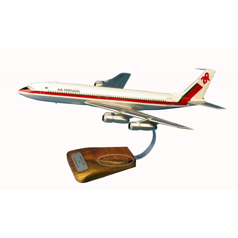 plane model - Boeing 707-382B TAP Santa Maria plane model - Boeing 707-382B TAP Santa Mariaplane model - Boeing 707-382B TAP San