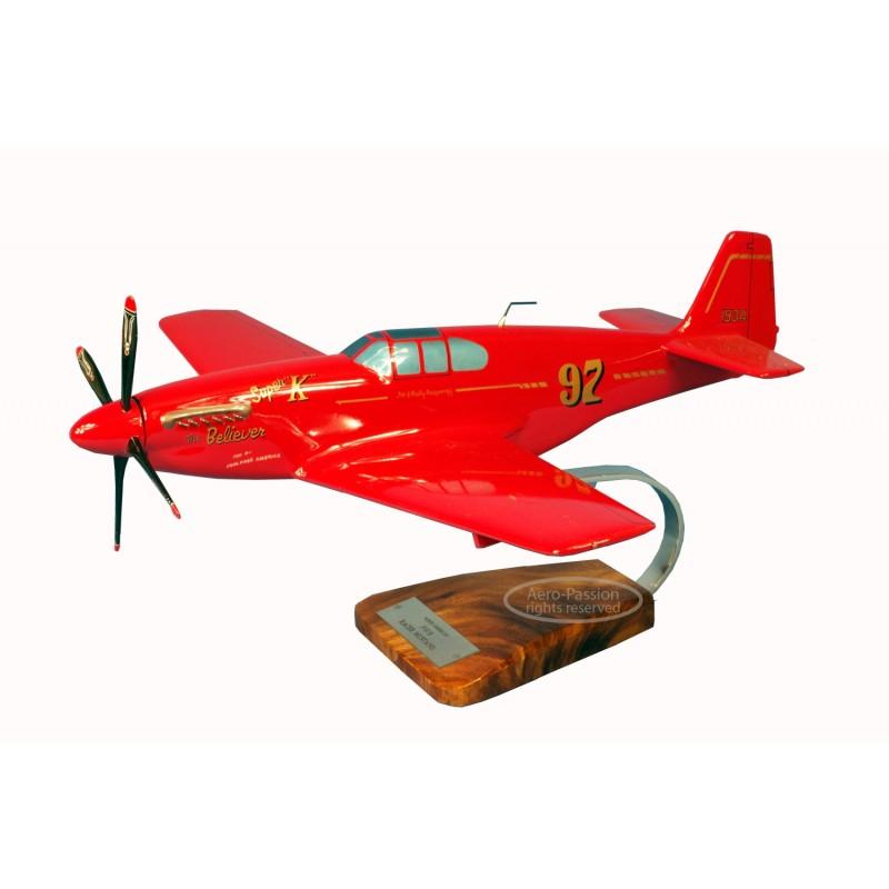 plane model - P-51C Mustang Racer plane model - P-51C Mustang Racerplane model - P-51C Mustang Racer
