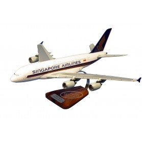 modello di aeroplano - Airbus A-380 Singapore Airlines modello di aeroplano - Airbus A-380 Singapore Airlinesmodello di aeroplan