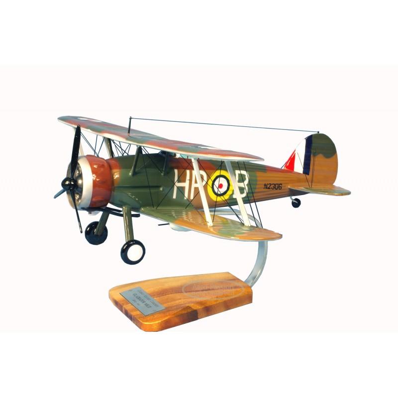 plane model - Gloster Gladiator MK.II plane model - Gloster Gladiator MK.IIplane model - Gloster Gladiator MK.II