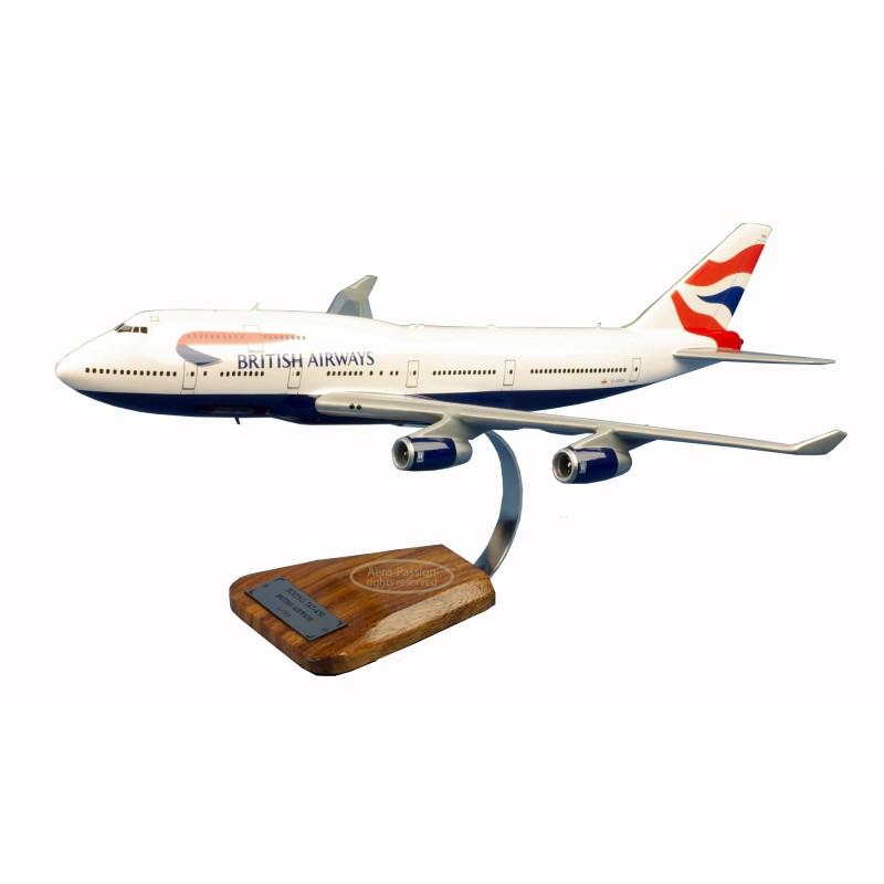 plane model - Boeing 747-400 British Airways UK plane model - Boeing 747-400 British Airways UKplane model - Boeing 747-400 Brit