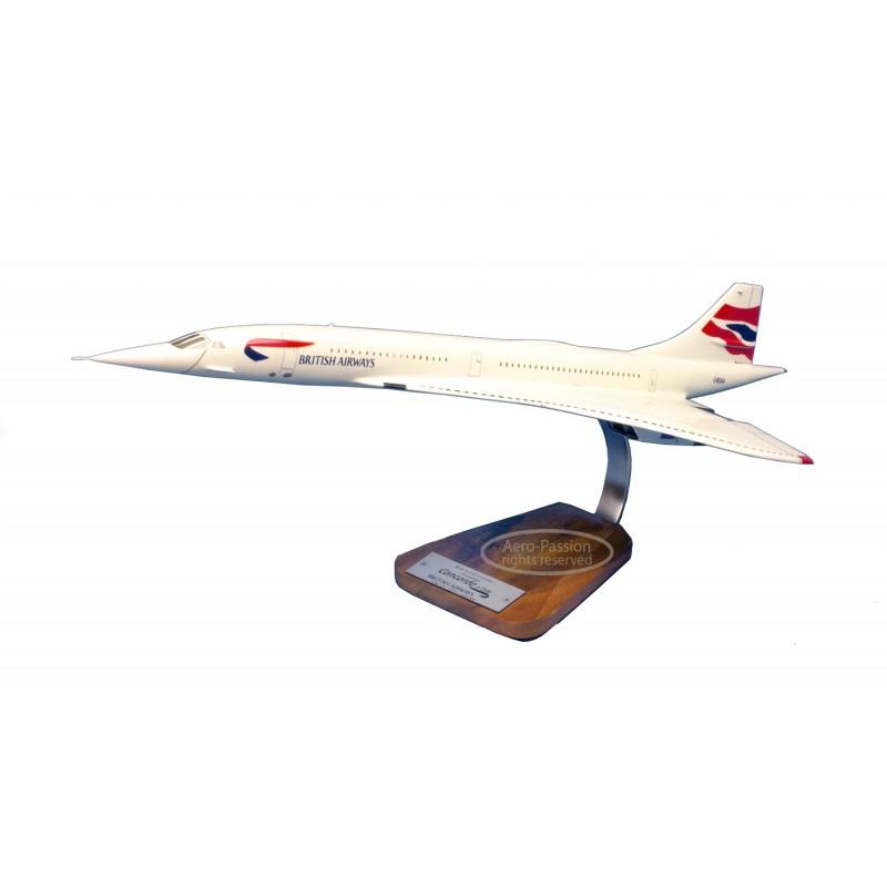 plane model - Concorde G-BOAA - British Airways plane model - Concorde G-BOAA - British Airwaysplane model - Concorde G-BOAA - B