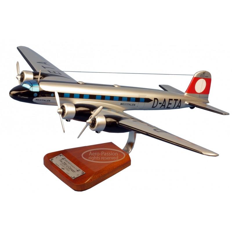 plane model - Focke Wulf 200 Condor plane model - Focke Wulf 200 Condorplane model - Focke Wulf 200 Condor