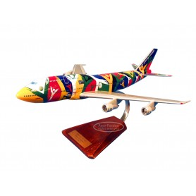 plane model - Boeing 747 - South African plane model - Boeing 747 - South Africanplane model - Boeing 747 - South African