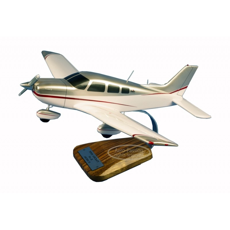 plane model - Piper PA-28 Archer III plane model - Piper PA-28 Archer IIIplane model - Piper PA-28 Archer III