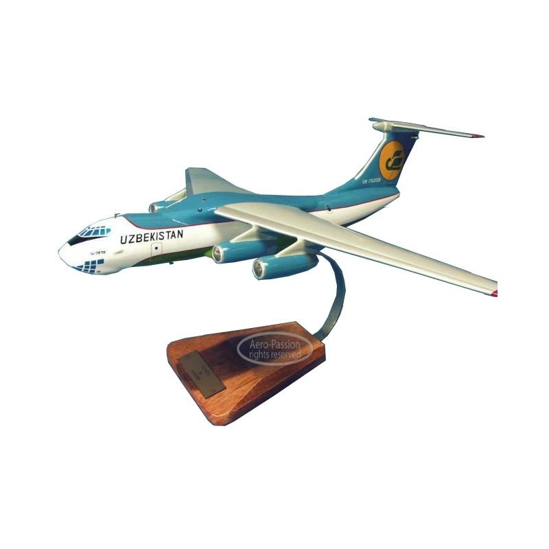 modelo de avião - Ilyushin IL-76T Candid modelo de avião - Ilyushin IL-76T Candidmodelo de avião - Ilyushin IL-76T Candid