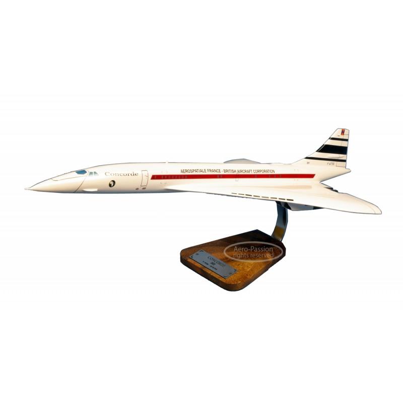 plane model - Concorde 001 F-WTSS - 1/100 - 62cm plane model - Concorde 001 F-WTSS - 1/100 - 62cmplane model - Concorde 001 F-
