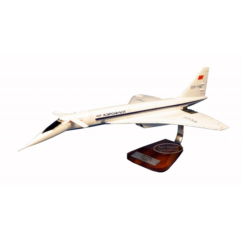plane model - Tupolev Tu-144 aeroflot plane model - Tupolev Tu-144 aeroflot