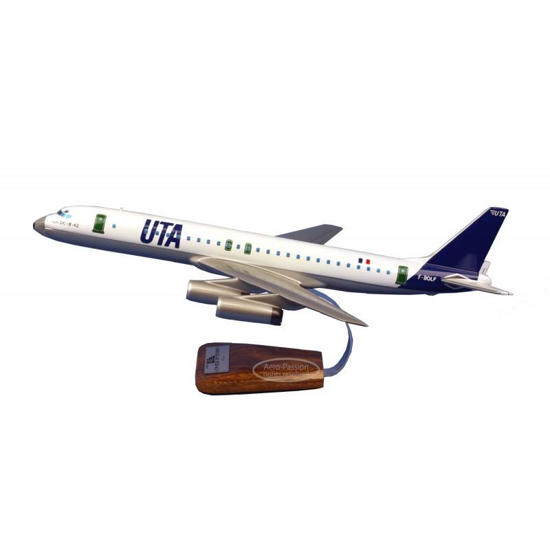 plane model - Douglas DC8-62 UTA plane model - Douglas DC8-62 UTA