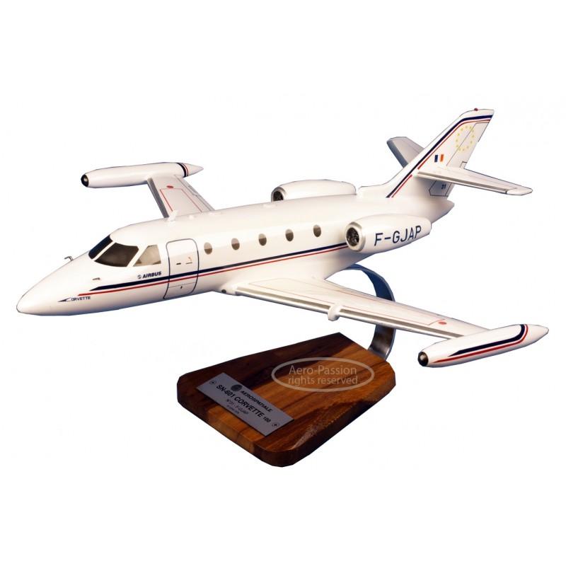 modelo de avião - Corvette SN-601 modelo de avião - Corvette SN-601