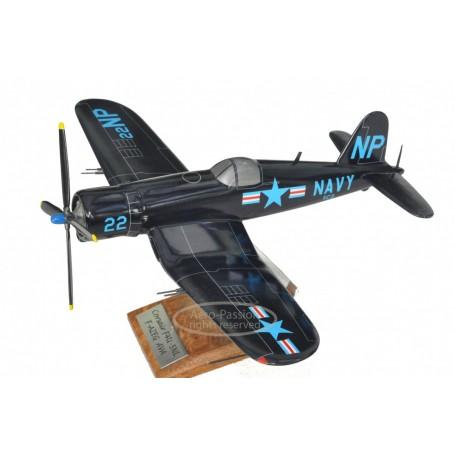 plane model - Corsair F4-U NAVY Ferté-Alais VF072-2