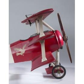 Baron Rouge - fokker DR-1 - 66 x 81 cm