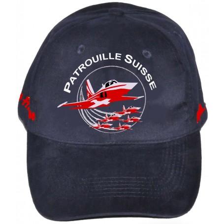 cap Patrouille Suisse F-5 CAP PatSuisse-bleu