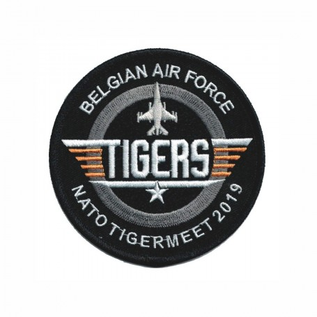 Embroidered patch - A-10 Thunderbolt The tiger Team - Patche 12cm FS082