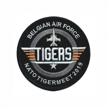 patch bordado de - A-10 Thunderbolt The tiger Team - Patche 12cm FS082