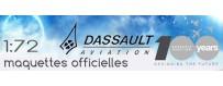 Maquettes au 1:72 des avions Dassault-Aviation
