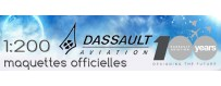 Maquettes 1:200 des avions Dassault-Aviation